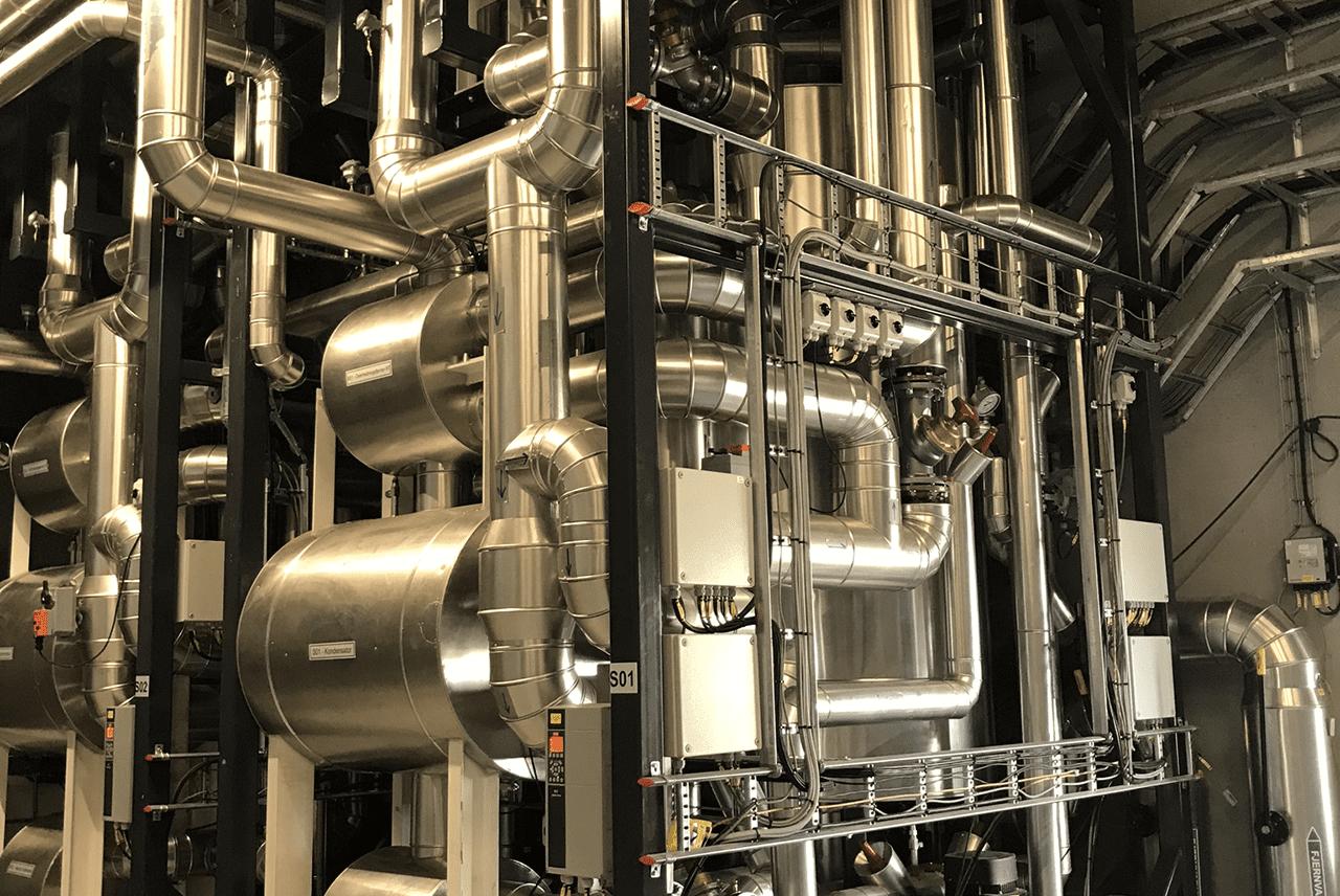 Large Scale Air Source Heat Pump Installation - Denmark